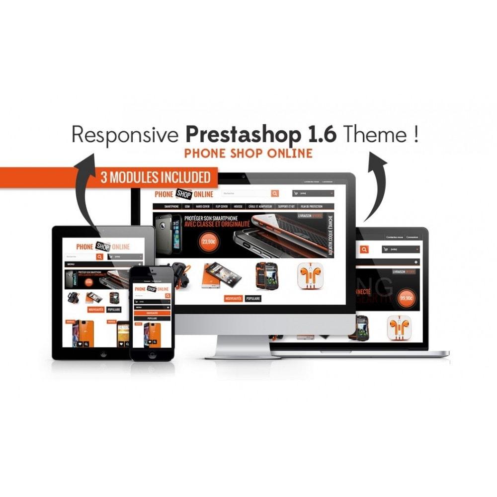 theme - Electrónica e High Tech - Phone Shop Online - 1