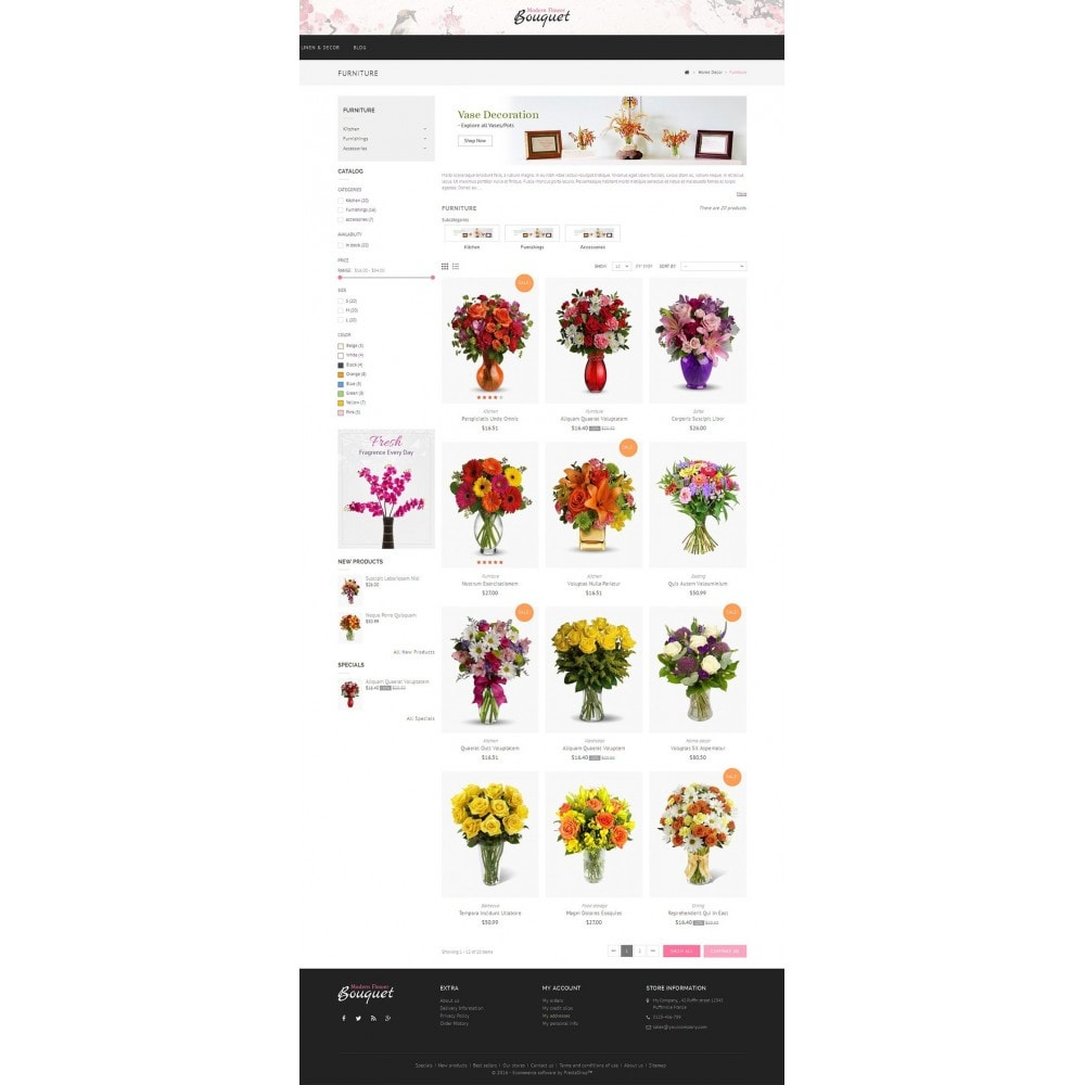 theme - Gifts, Flowers & Celebrations - Flower Store - 3