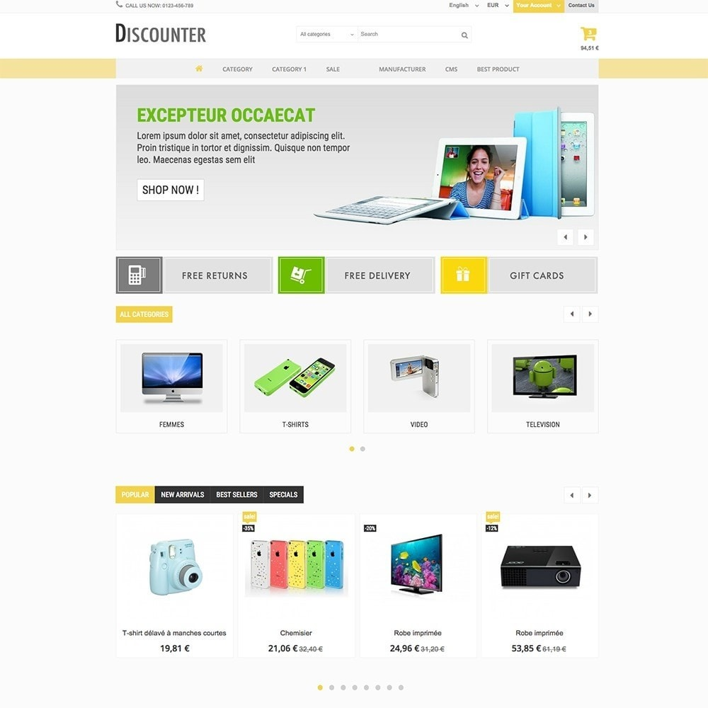 theme - Elettronica & High Tech - DISCOUNTER - 5