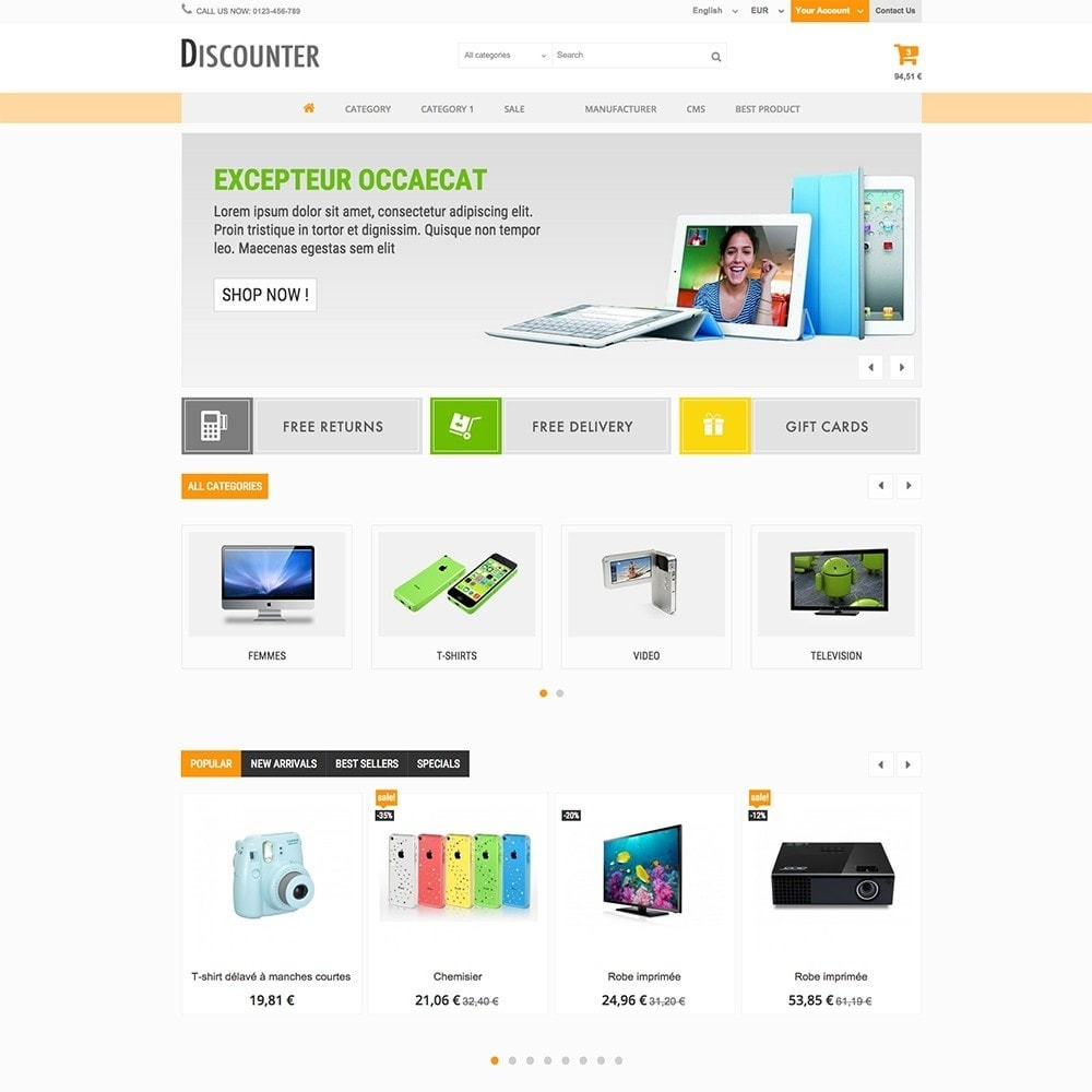 theme - Elettronica & High Tech - DISCOUNTER - 6