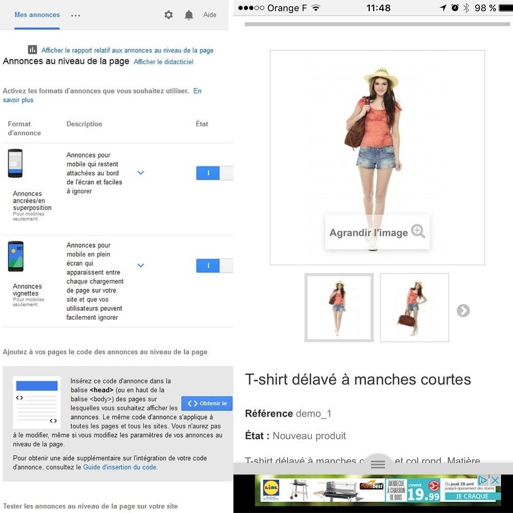 module - Référencement payant (SEA SEM) & Affiliation - Google Adsense - 5