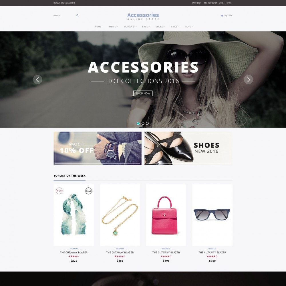 theme - Mode & Schuhe - Accessories - Shoes Clothing Store - 2