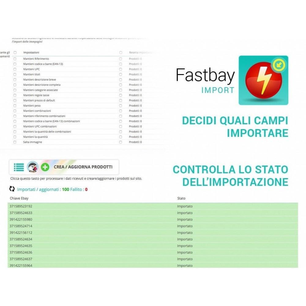 module - Data Import & Export - Import eBay - crea prodotti da inserzioni eBay - 3