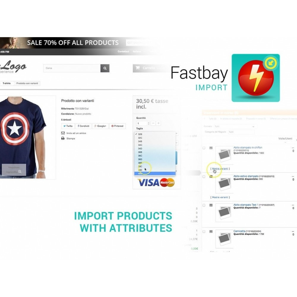 module - Importación y Exportación de datos - Import eBay - creates products from eBay listings - 4