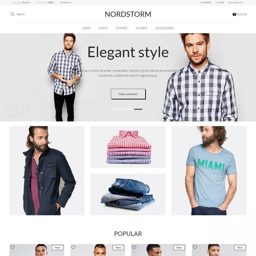 NordStorm Men's Wear