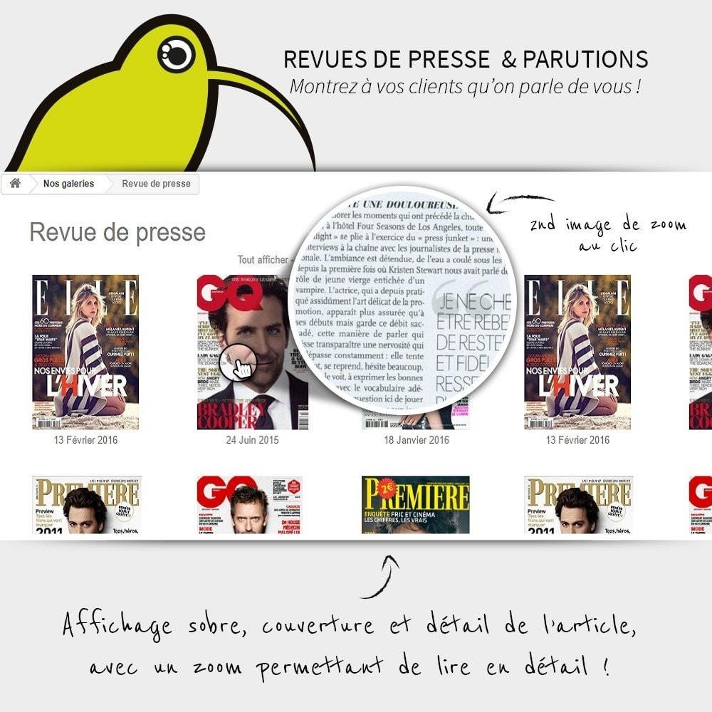 module - Avis clients - Revues de Presse | Parution - 1