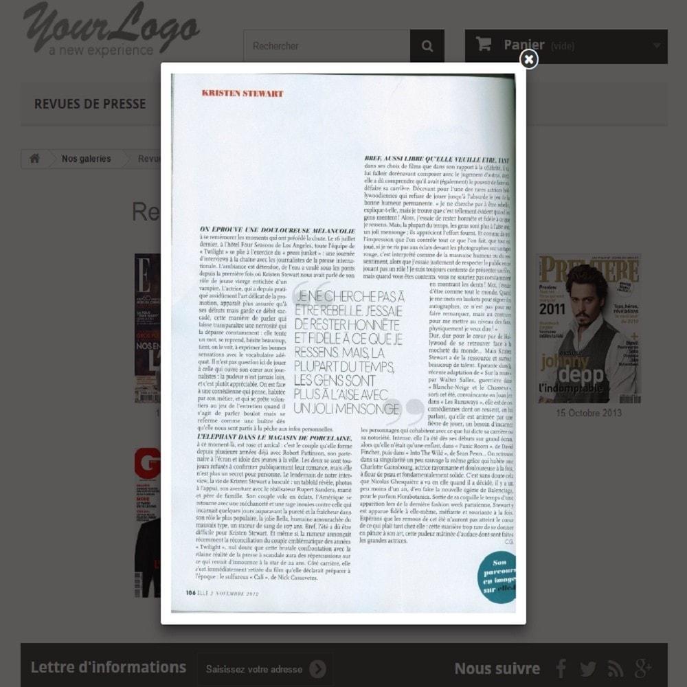 module - Avis clients - Revues de Presse | Parution - 3