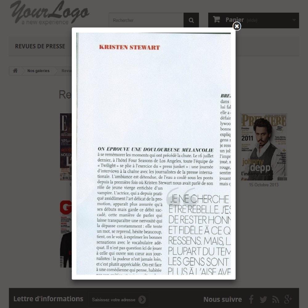 module - Avis clients - Revues de Presse | Parution - 4