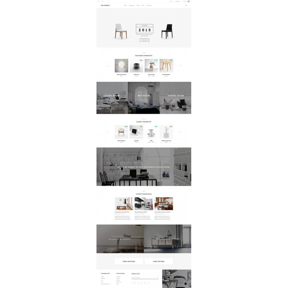 theme - Home & Garden - JMS Delphinus - 6