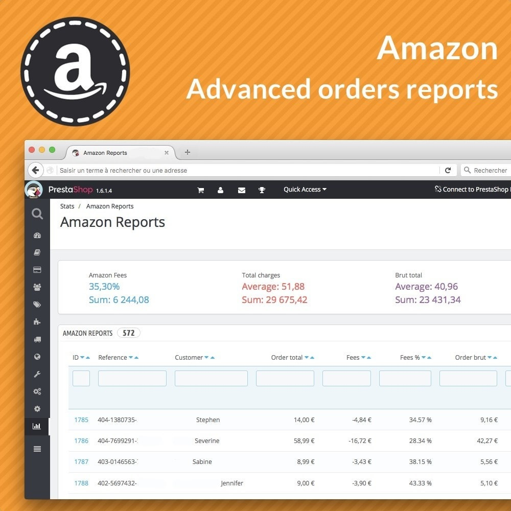 module - Orderbeheer - Amazon Reports - 1