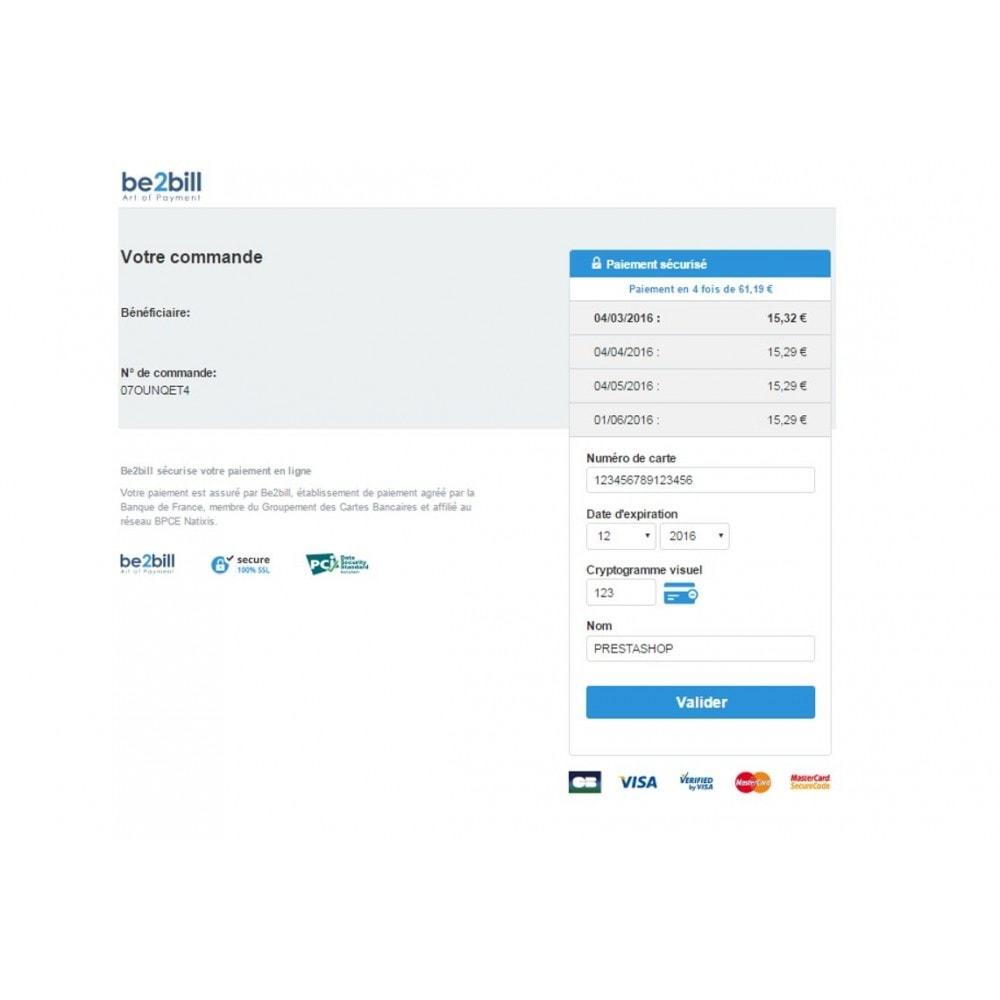 module - Paiement par Carte ou Wallet - Dalenys - Le service de paiement orienté CONVERSION - 6