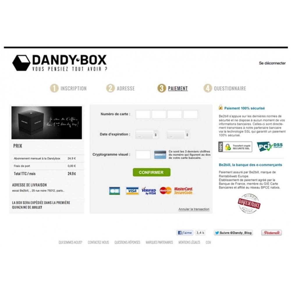 module - Paiement par Carte ou Wallet - Dalenys - Le service de paiement orienté CONVERSION - 7