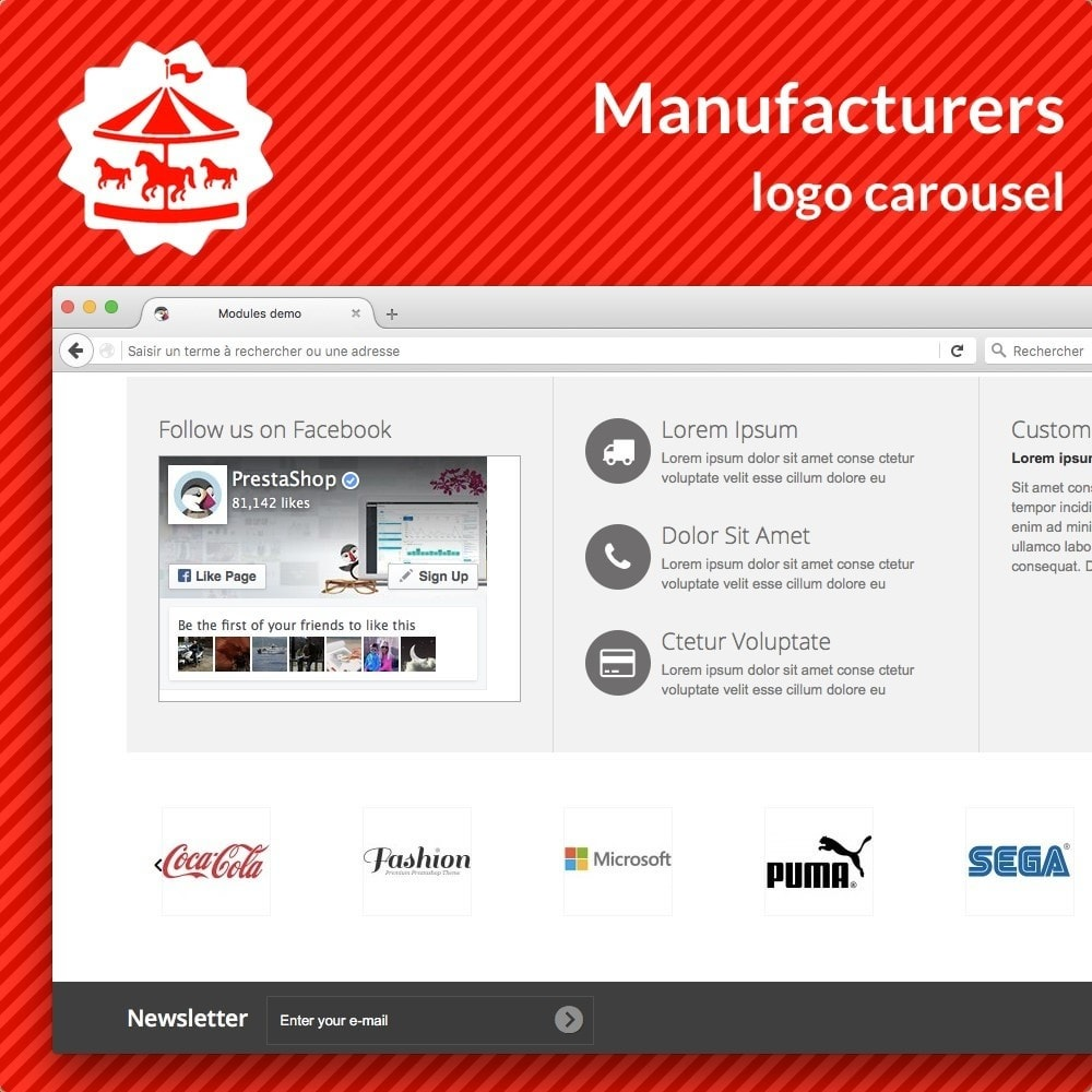 module - Marcas y Fabricantes - Manufacturer carousel - 1