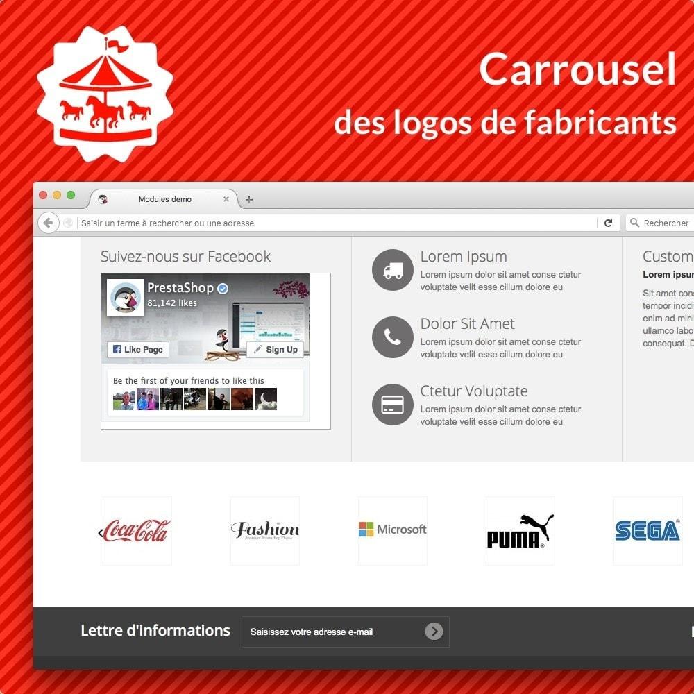 module - Marques & Fabricants - Carousel des logos de fabricants - 1