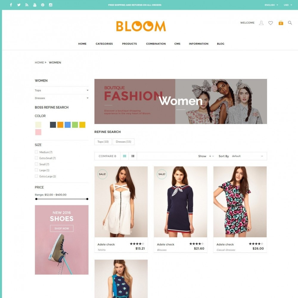Bloom | Clothing Fashion Store