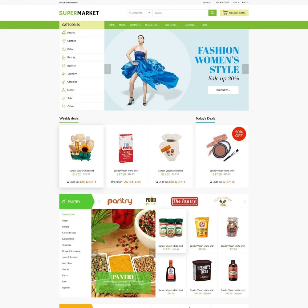 theme - Saúde & Beleza - SuperMarket | Bio Medical Fashion Baby Beauty Store - 2