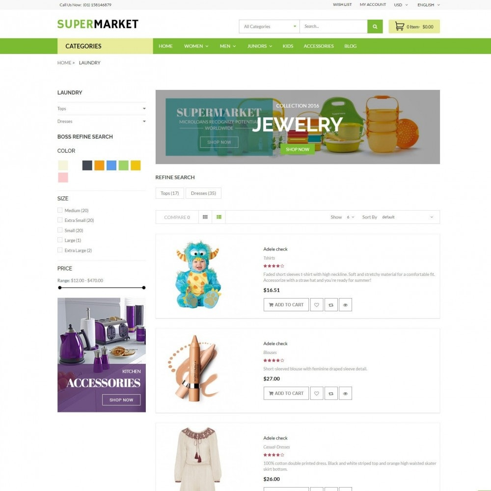 theme - Salud y Belleza - SuperMarket | Bio Medical Fashion Baby Beauty Store - 4