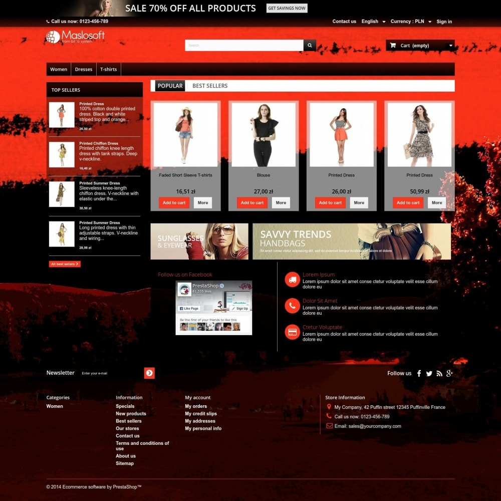 theme - Спорт и Путешествия - Crimson Sunset - 2