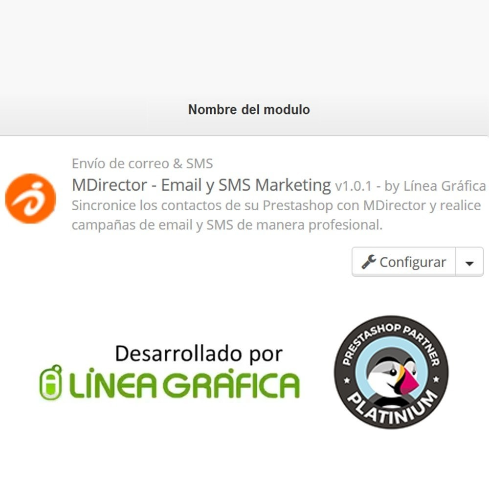 module - Nieuwsbrief & SMS - MDirector - SMS and Email Marketing Campaigns - 8