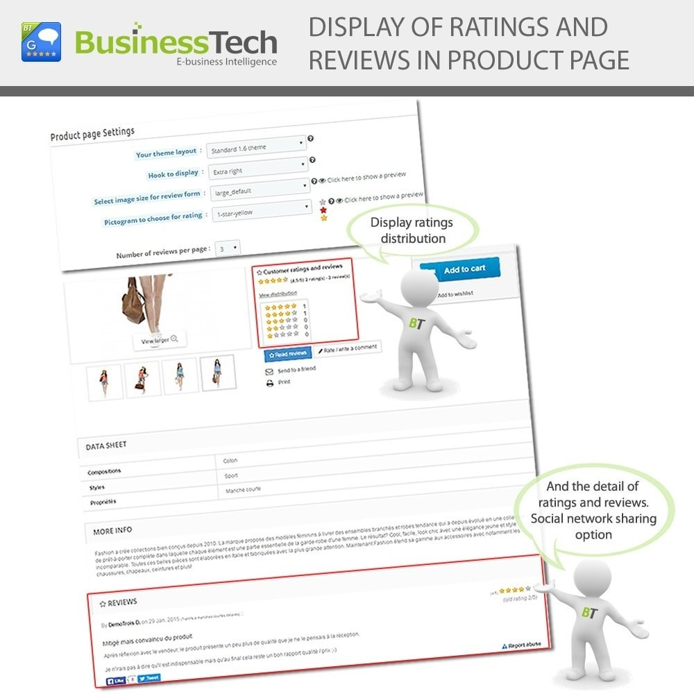 module - SEO - Customer Ratings and Reviews Pro + Google Rich Snippets - 7