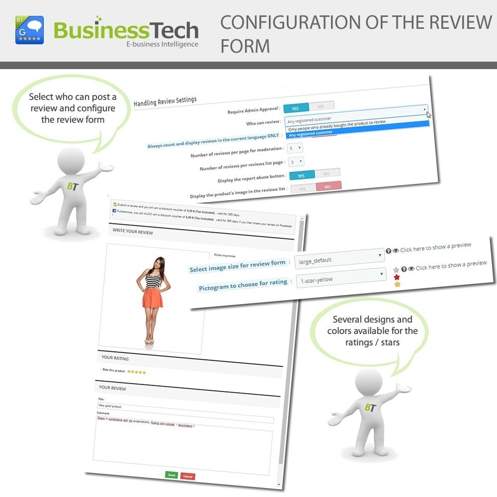 module - SEO - Customer Ratings and Reviews Pro + Google Rich Snippets - 8