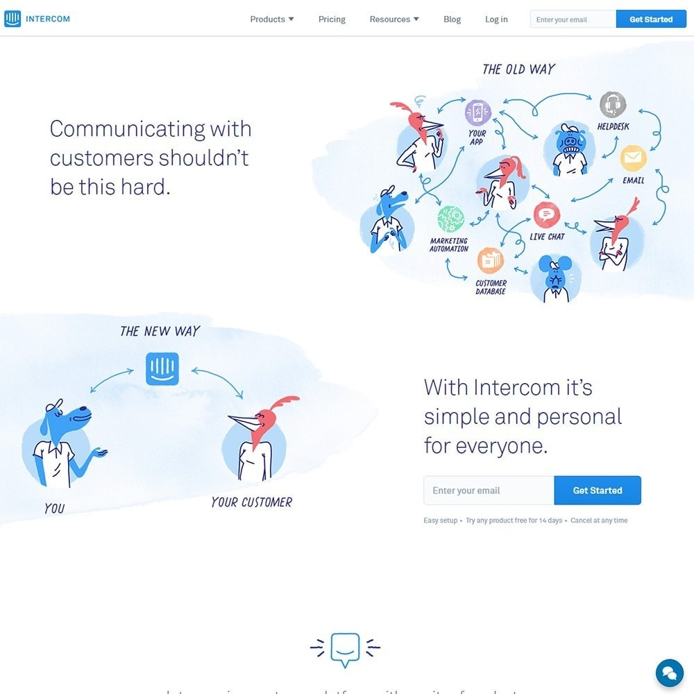 module - Asistencia & Chat online - Intercom.io - Customer Communication Platform - 2
