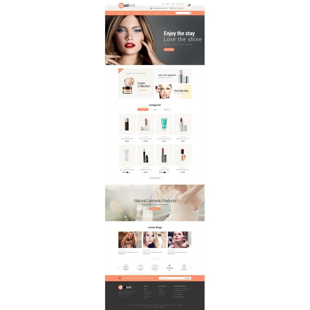 Gradient Cosmetic Store