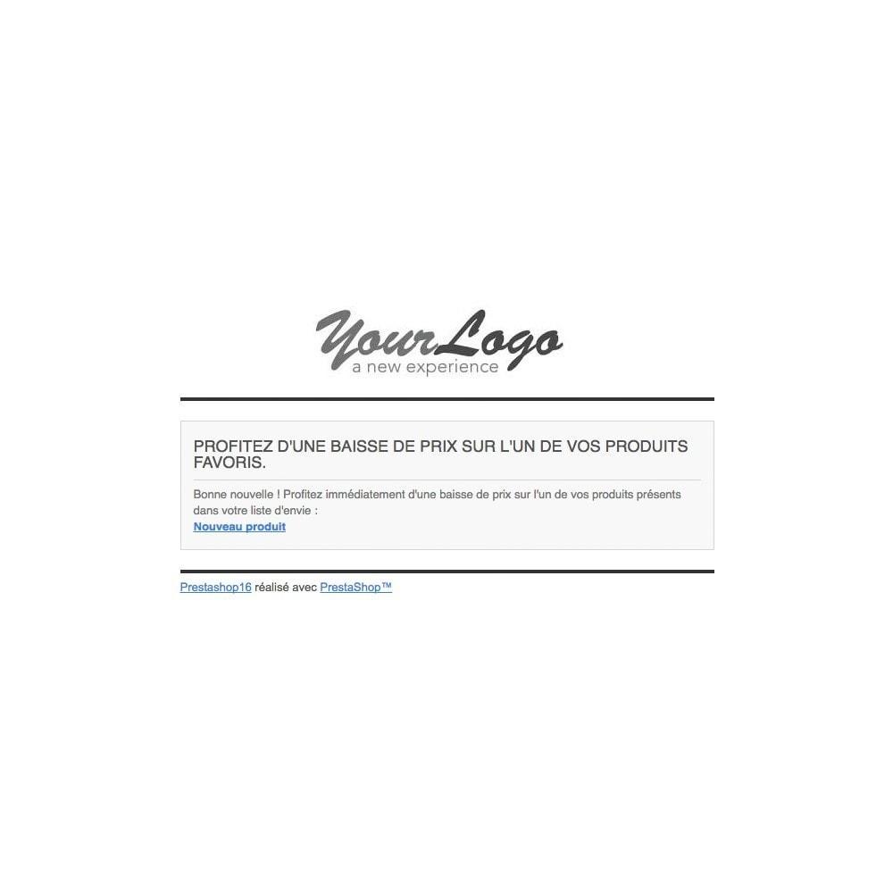 module - Liste de souhaits & Carte cadeau - Liste d'envies Gold - 3