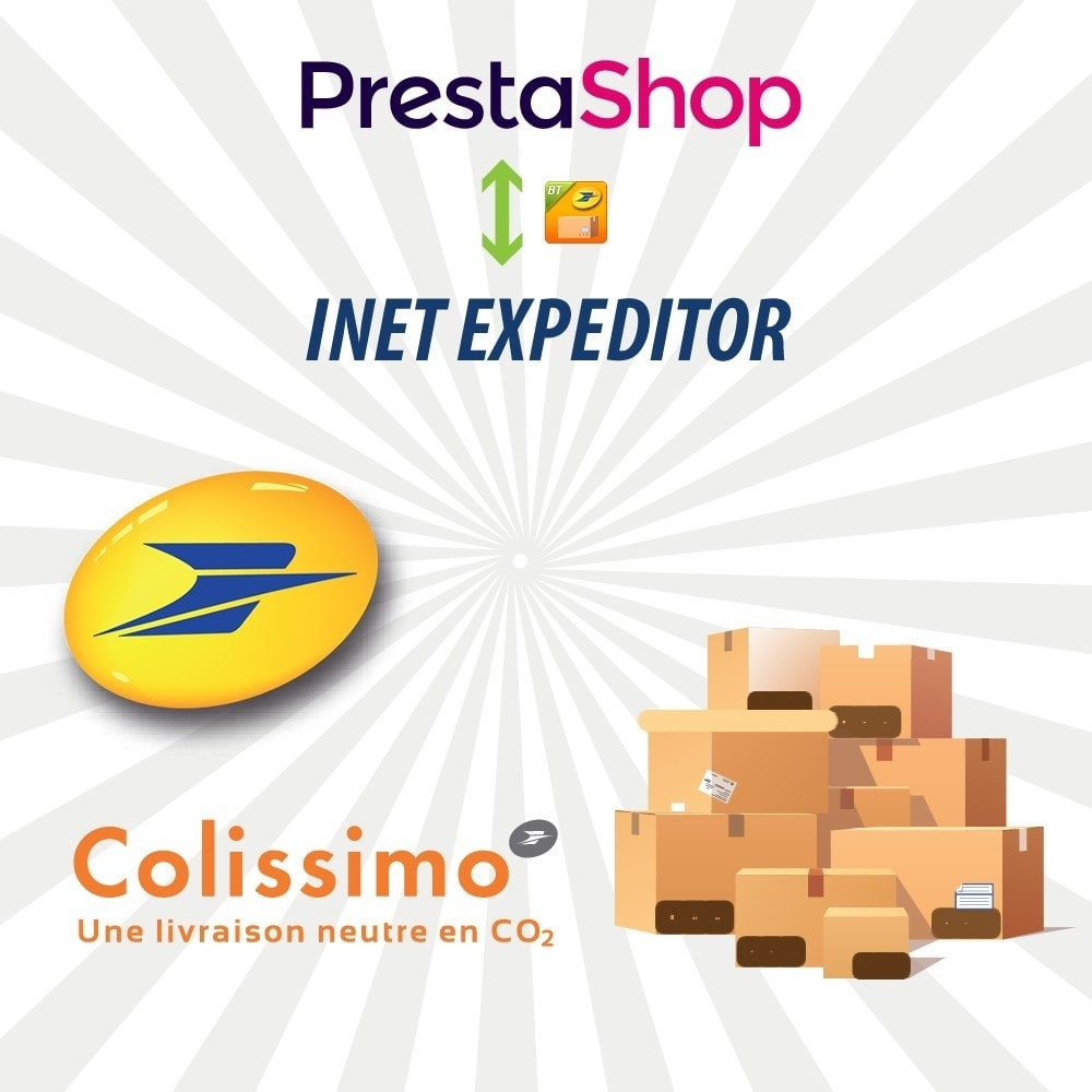 module - Przygotowanie & Wysyłka - INET Expeditor Pro for La Poste & Colissimo - 1
