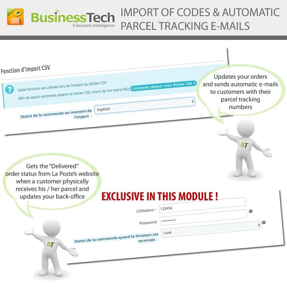 module - Preparazione & Spedizione - INET Expeditor Pro for La Poste & Colissimo - 6