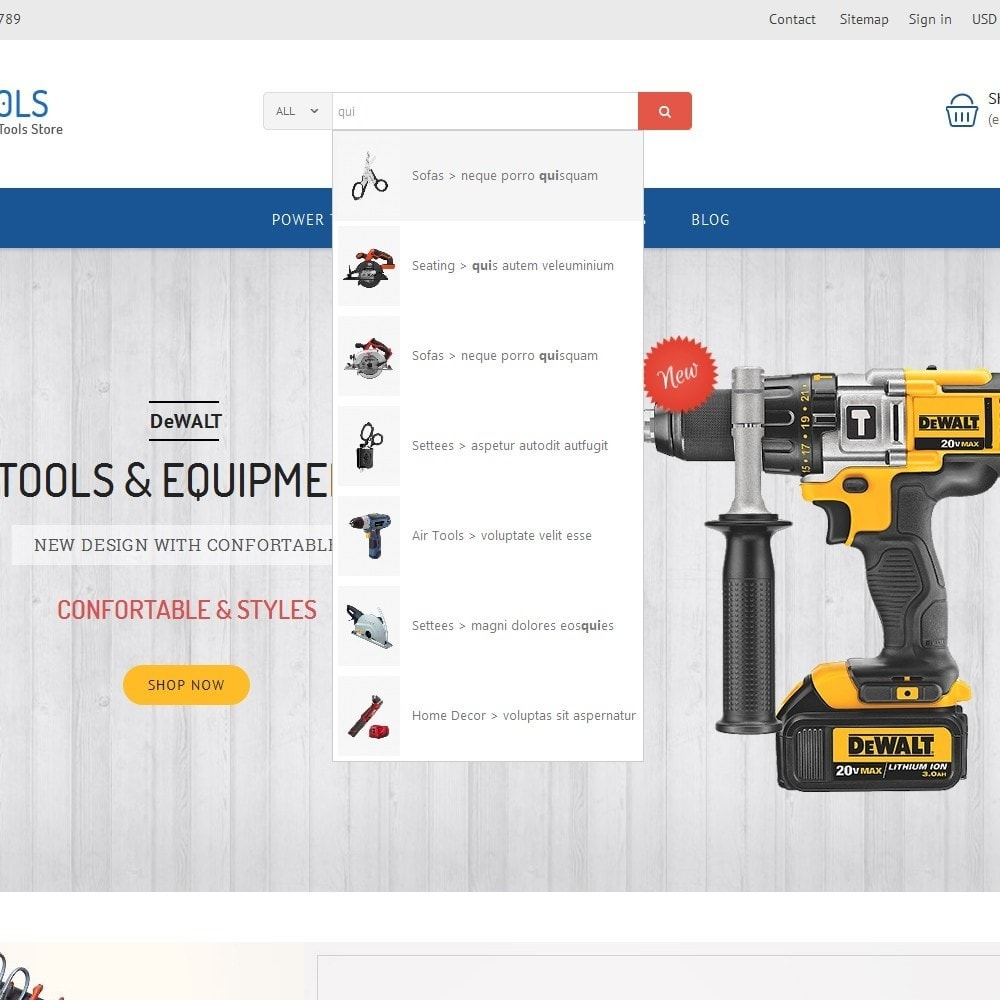 theme - Dom & Ogród - Tools Store - 8