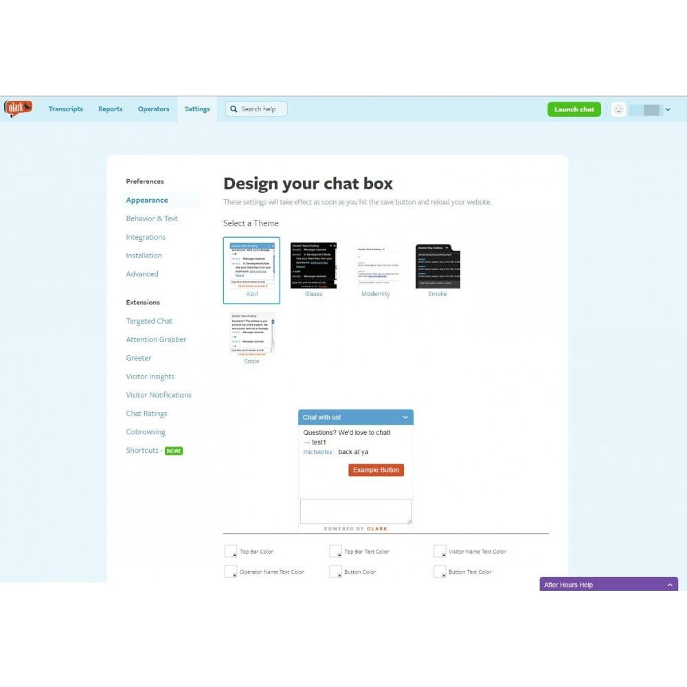 module - Support & Chat Online - Studio Vitamine : Olark - 2