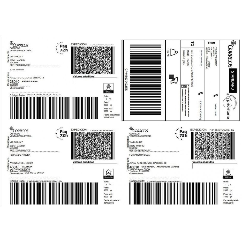 module - Envío y Logística - Correos Oficial - 10