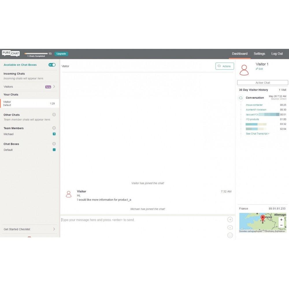 module - Support & Chat Online - Studio Vitamine : PureChat - 1