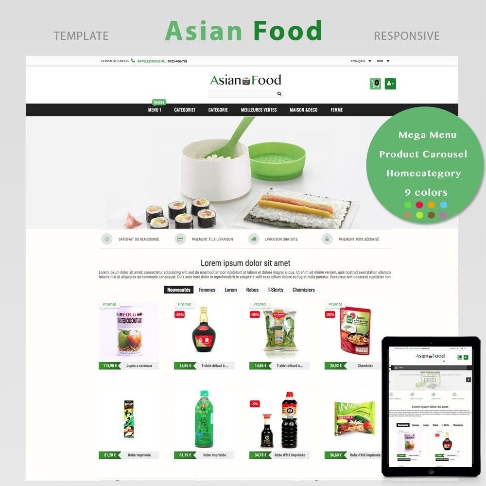 theme - Saúde & Beleza - ASIAN FOOD - 1