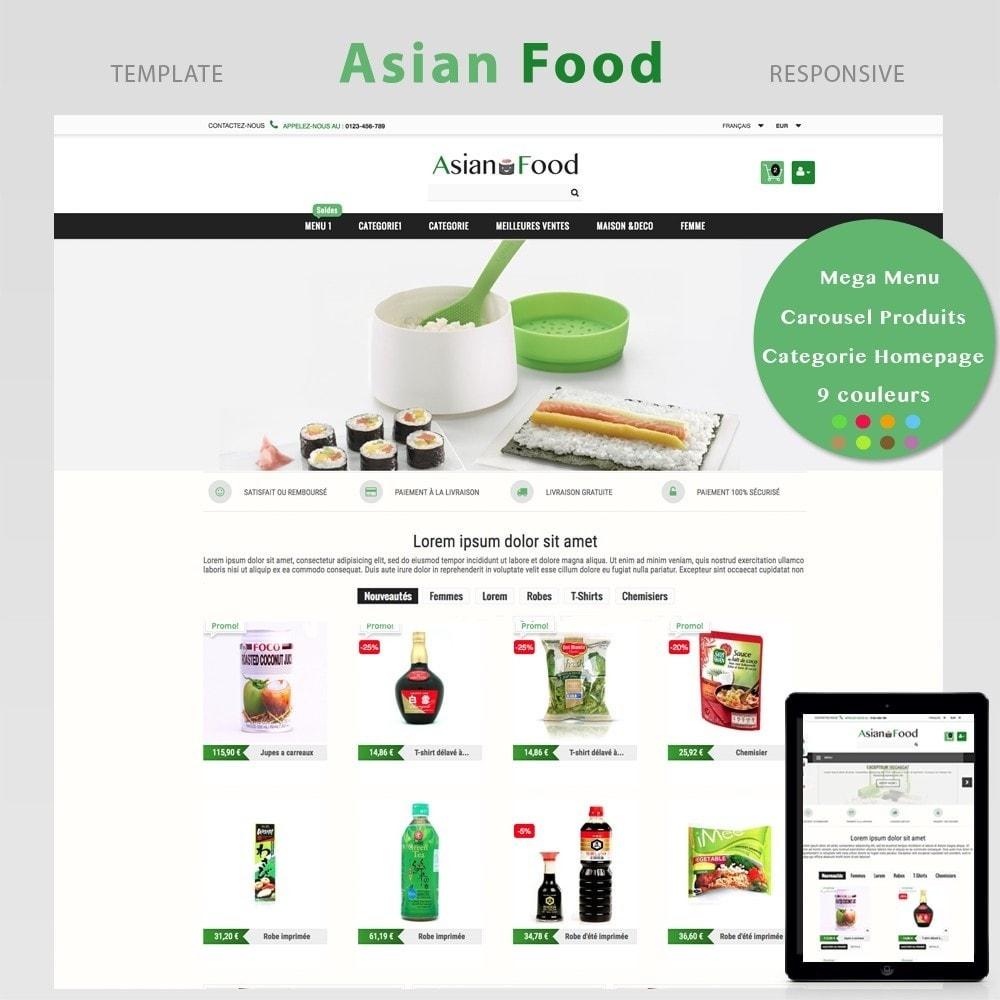 theme - Santé & Beauté - ASIAN FOOD - 2