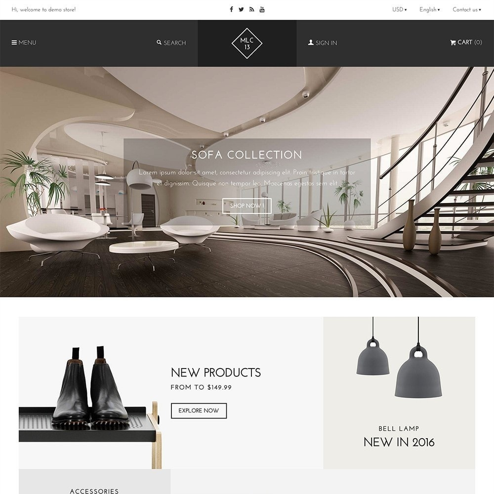 mlc13 - A Flexible Homeware and Furniture e-Commerce