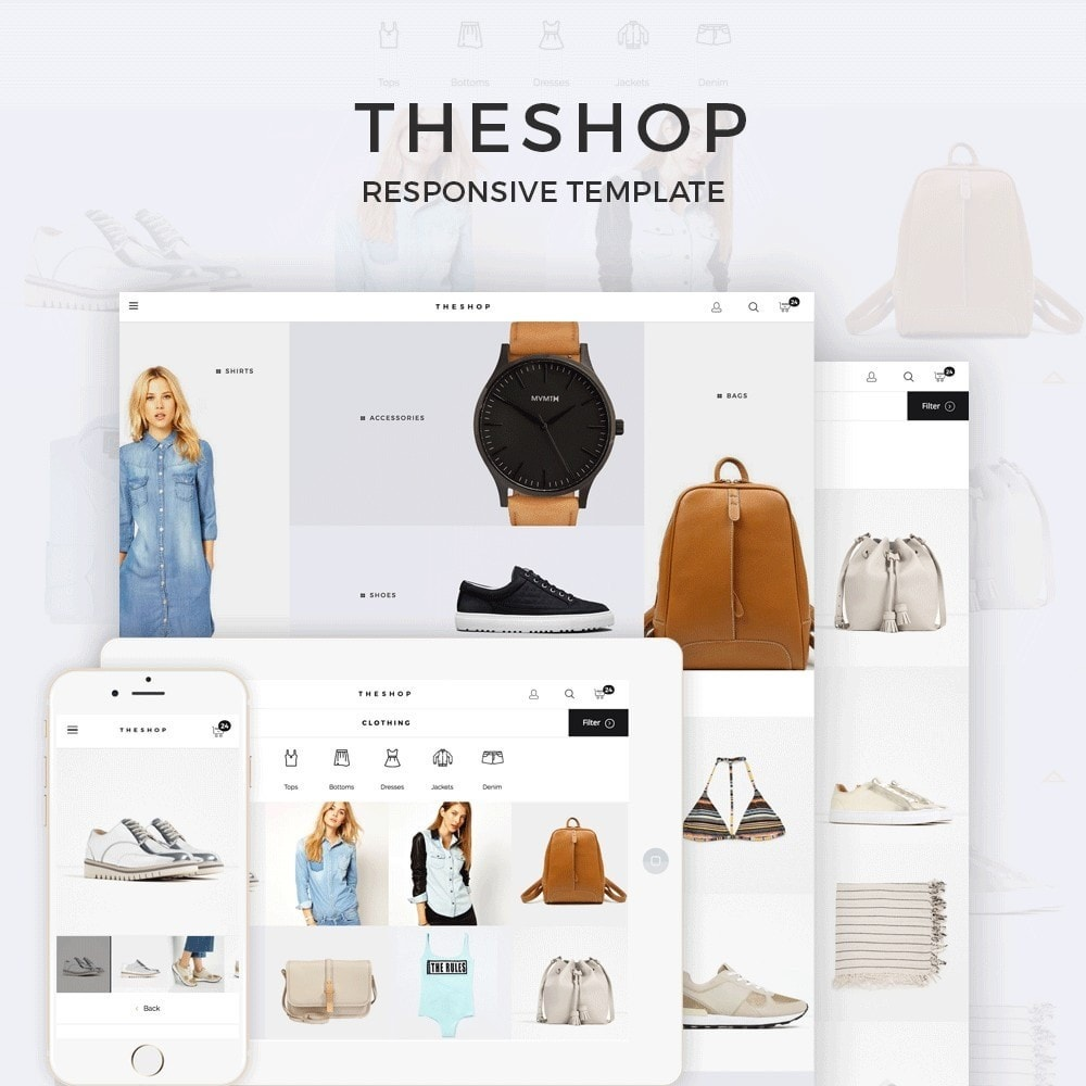 theme - Moda & Obuwie - THESHOP - 1