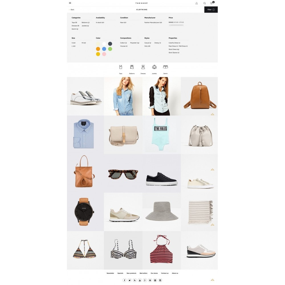theme - Fashion & Shoes - THESHOP - 4