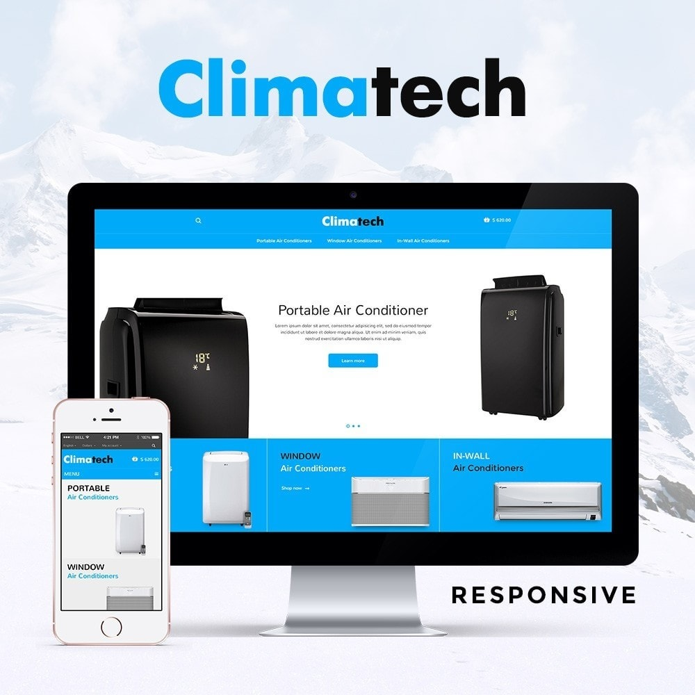 theme - Elektronica & High Tech - Climatech Store - 1