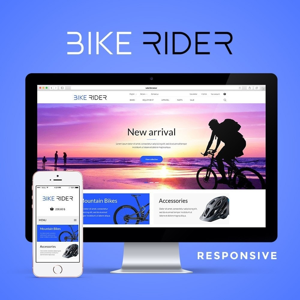 theme - Sport, Attività & Viaggi - Bike Rider Shop - 1
