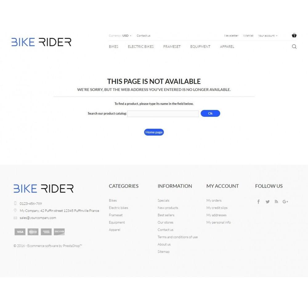 theme - Deportes, Actividades y Viajes - Bike Rider Shop - 9