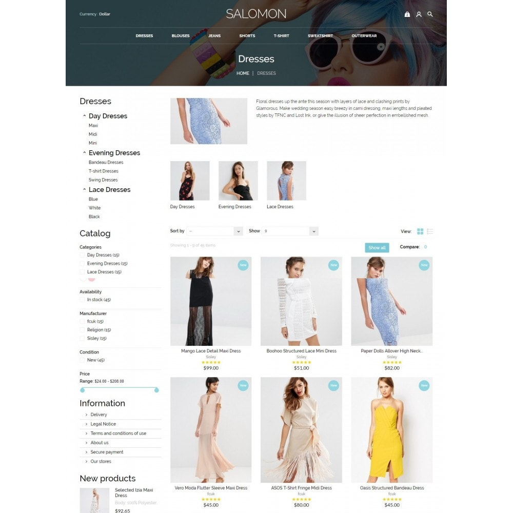theme - Mode & Schoenen - Salamon Fashion Store - 5