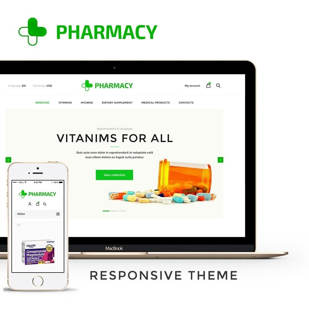 theme - Health & Beauty - Pharmacy Store - 1