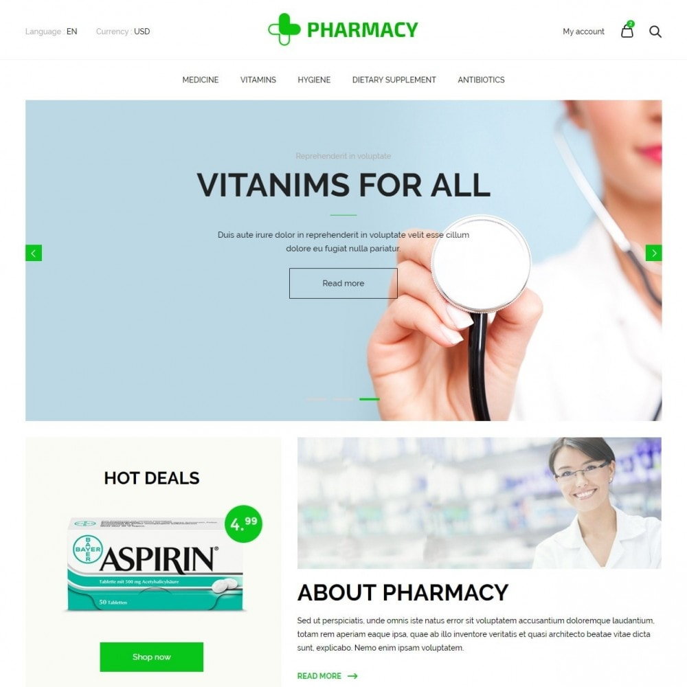 theme - Health & Beauty - Pharmacy Store - 2