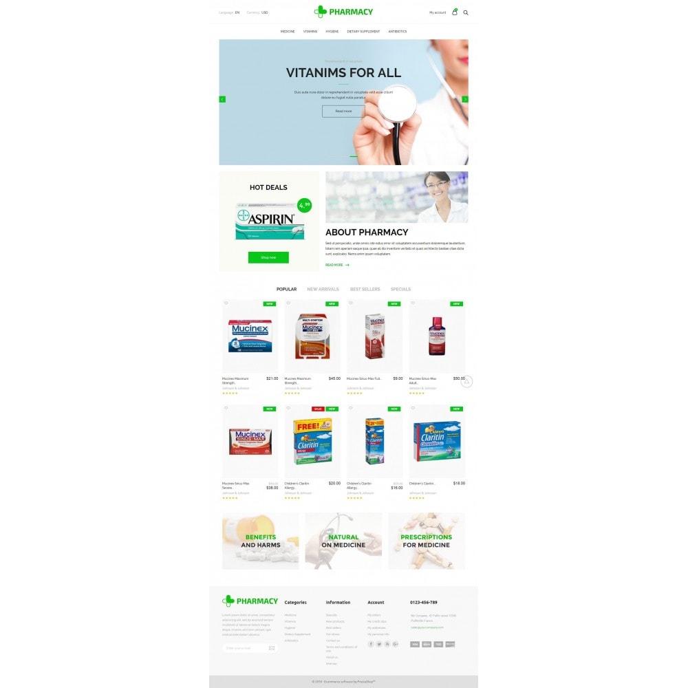 theme - Здоровье и красота - Pharmacy Store - 6