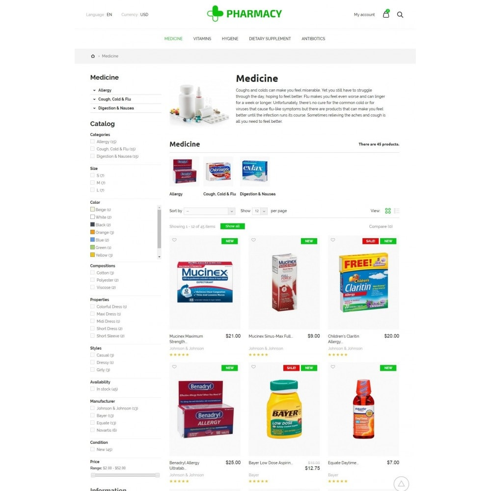 theme - Health & Beauty - Pharmacy Store - 7