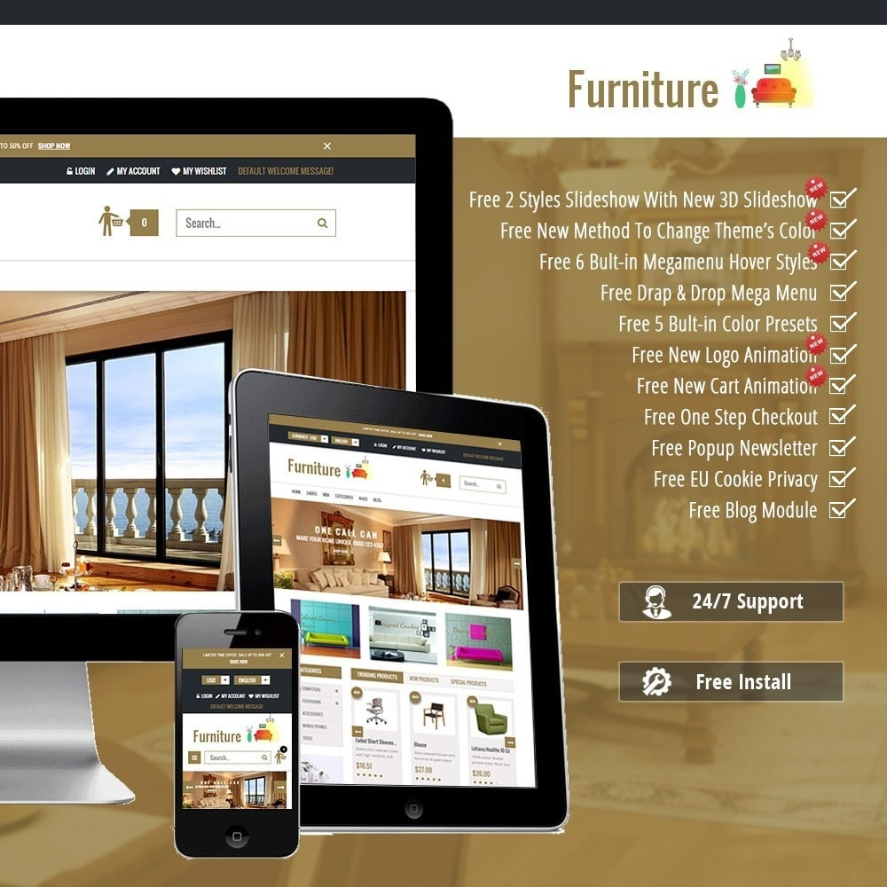 Furniture Interior Store