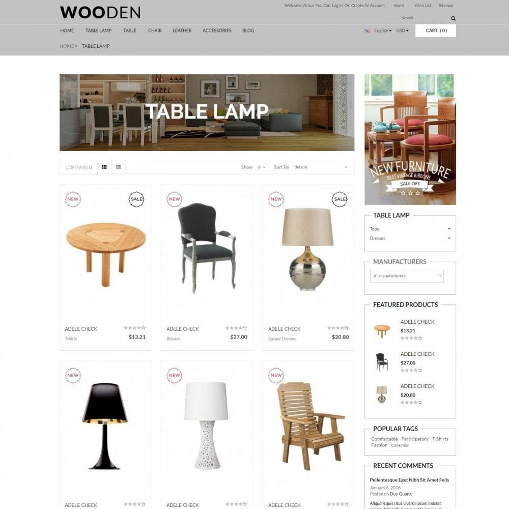 theme - Dom & Ogród - Wooden | Home & Furniture - 3