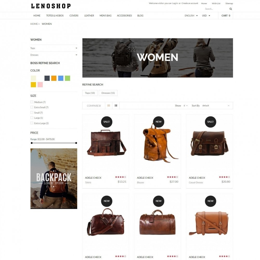 theme - Moda & Calzature - LenoShop | Fashion & Bags BackPacks - 3